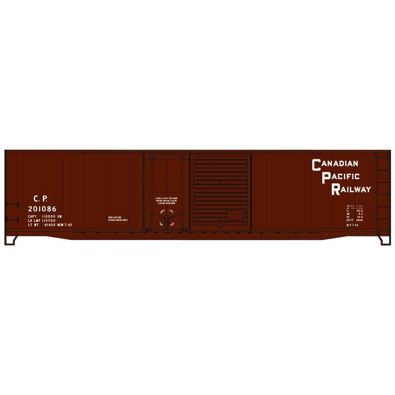 HO KIT 50' Combo Door Box CPR