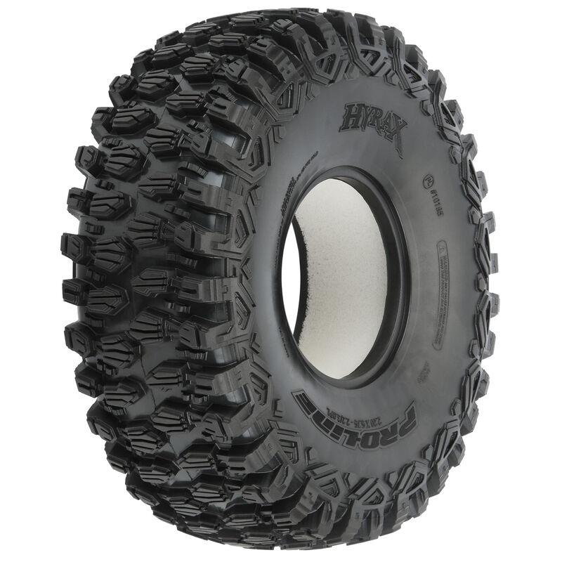 "1/10 Hyrax U4 G8 Front/Rear 2.2""/3.0"" Rock Racing Tires (2)"