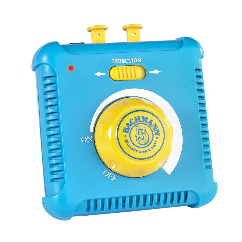 HO Power Pack & Speed Controller, Blue