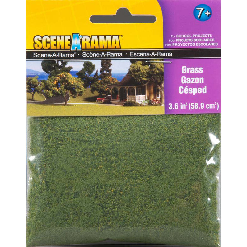 Scene-A-Rama Scenery Bags, Grass 2oz