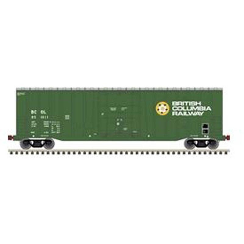 N NSC 50' 5277 Plugdoor Boxcar BC Railway #851012