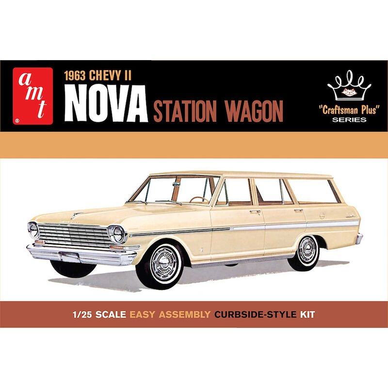 1/25 1963 Chevy II Nova Station Wagon Craftsman