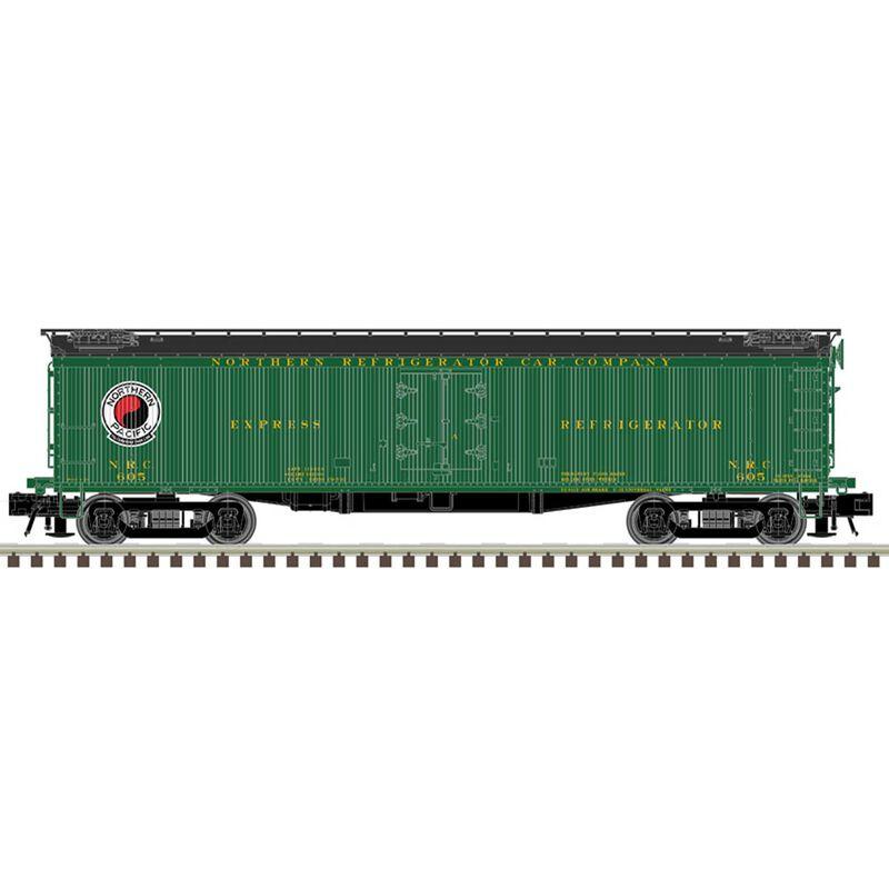 """O 53' 6"""" WER 3 Rail Northern Refrigerator Car"""