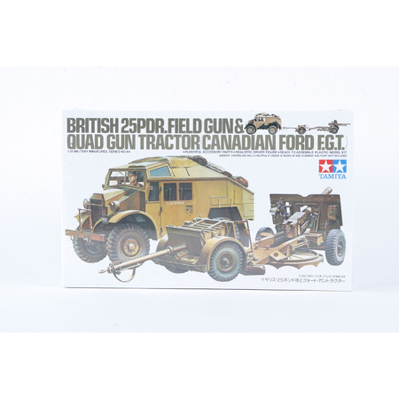 1/35 British 25lb Gun & Quad