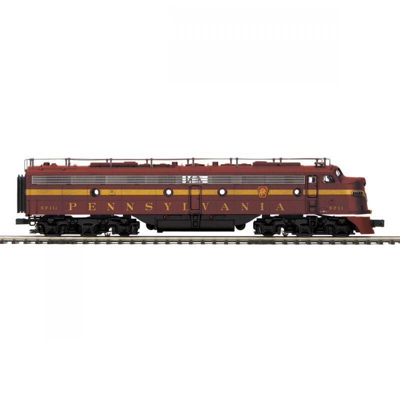O-27 E8 A with PS3 Hi-Rail PRR #5711