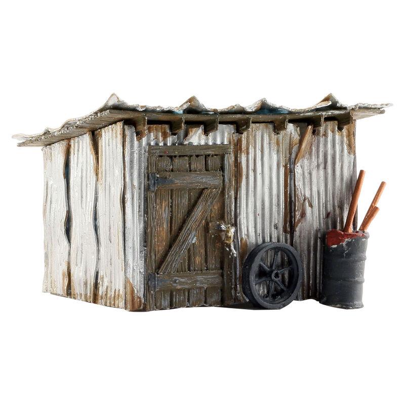 N Built-Up Tin Shack
