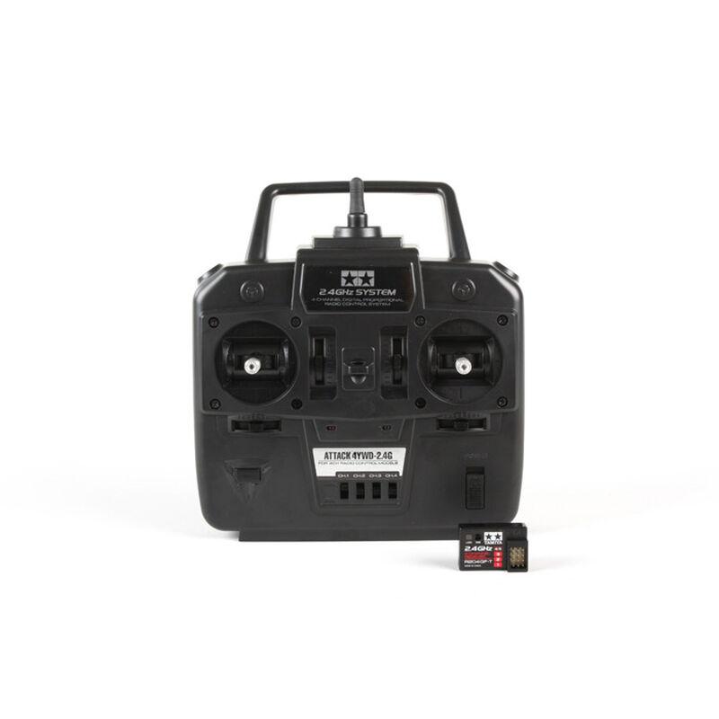Attack 4YWD 2.4GHz 4-channel Digital Proportional Radio Control System