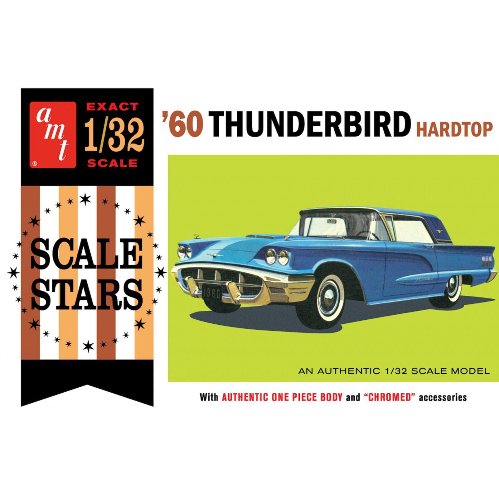 1/32 1960 Ford Thunderbird, Model Kit
