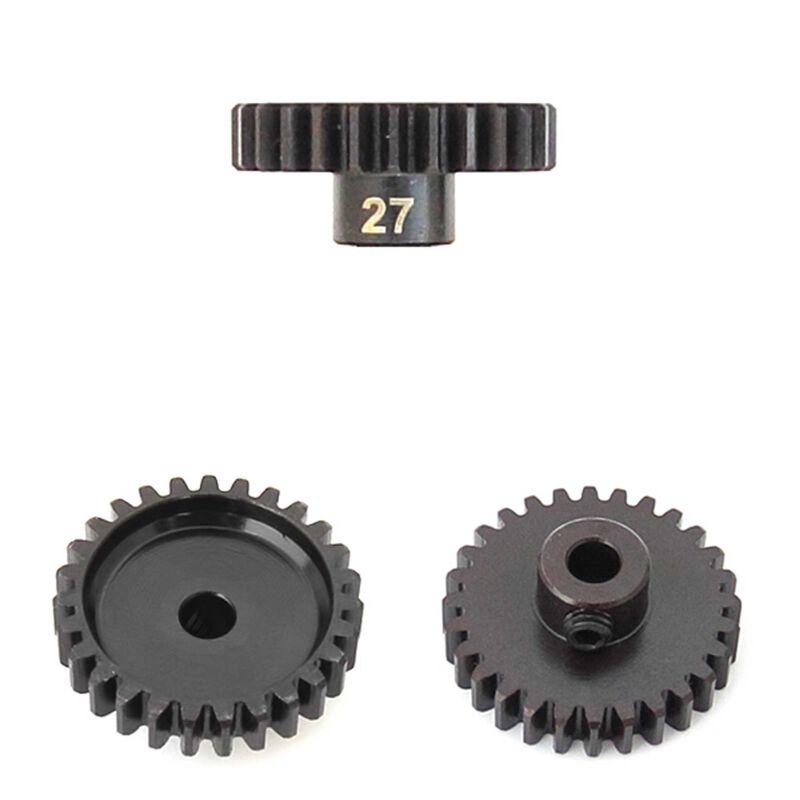 M5 Pinion Gear, 27T, MOD1, 5mm Bore, M5 Set Screw