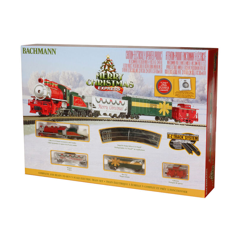 N Merry Christmas Express Train Set