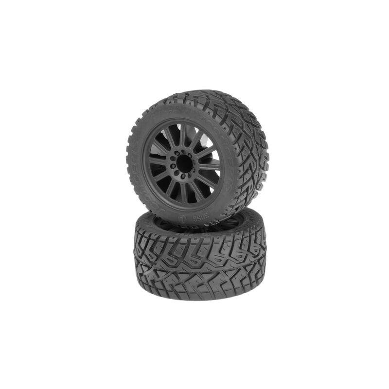 G-LocsTire, Yellow Mnt 2.8 Blk Wheel:EST, ERU