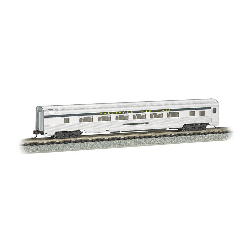 N 85' Fluted Streamline Coach w/Lighting, B&O