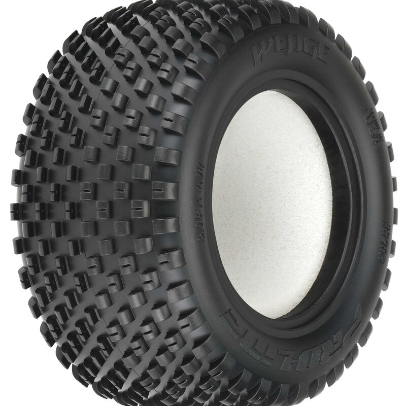 1/10 Front Wedge T 2.2 Z4 Off-Road Carpet Tires (2): Stadium Truck