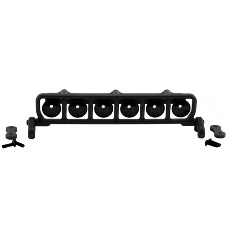 Roof Mount Light Bar Set, Black: SLH