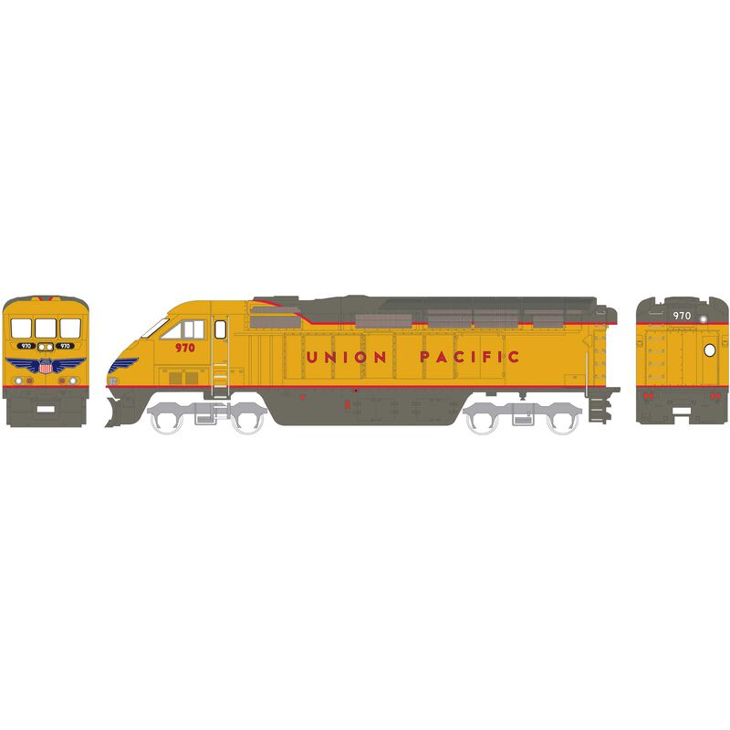 HO RTR F59PHI with DCC & Sound UP #970
