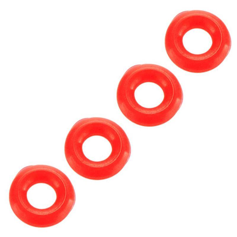 O-Ring 4x2mm: Nero (4)