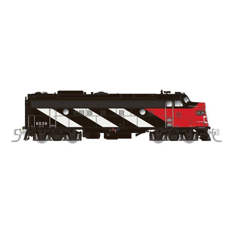 N Scale CN FP9A (DC Silent), CN Stripes #6528