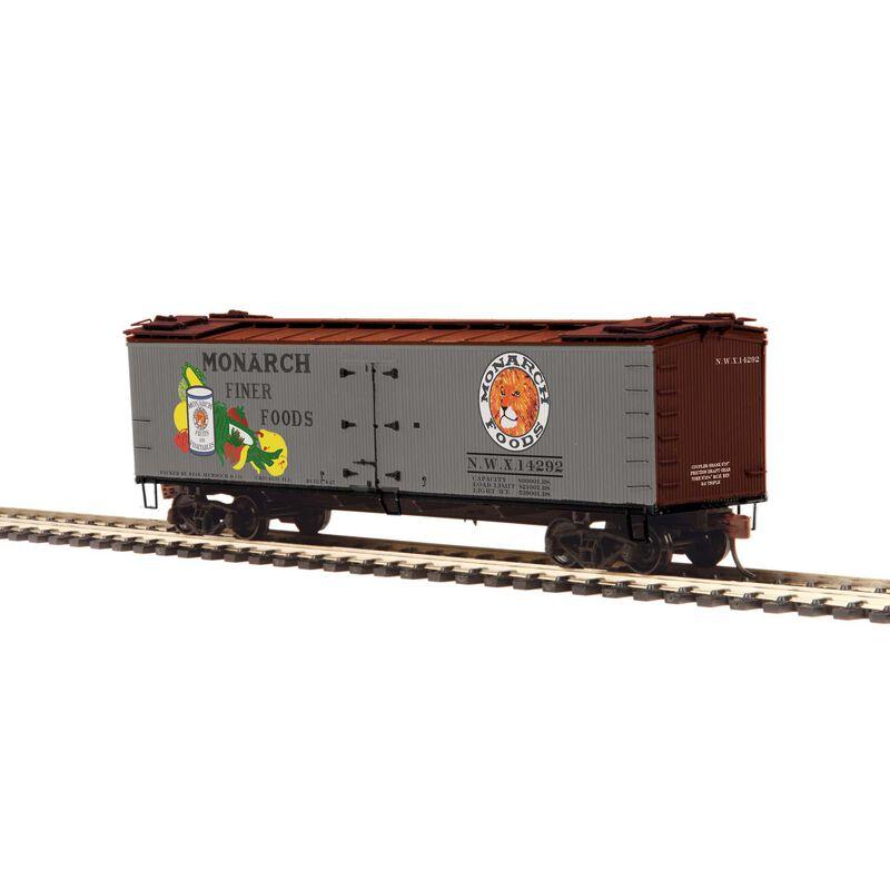 HO R40-2 Wood Reefer Monarch #14292