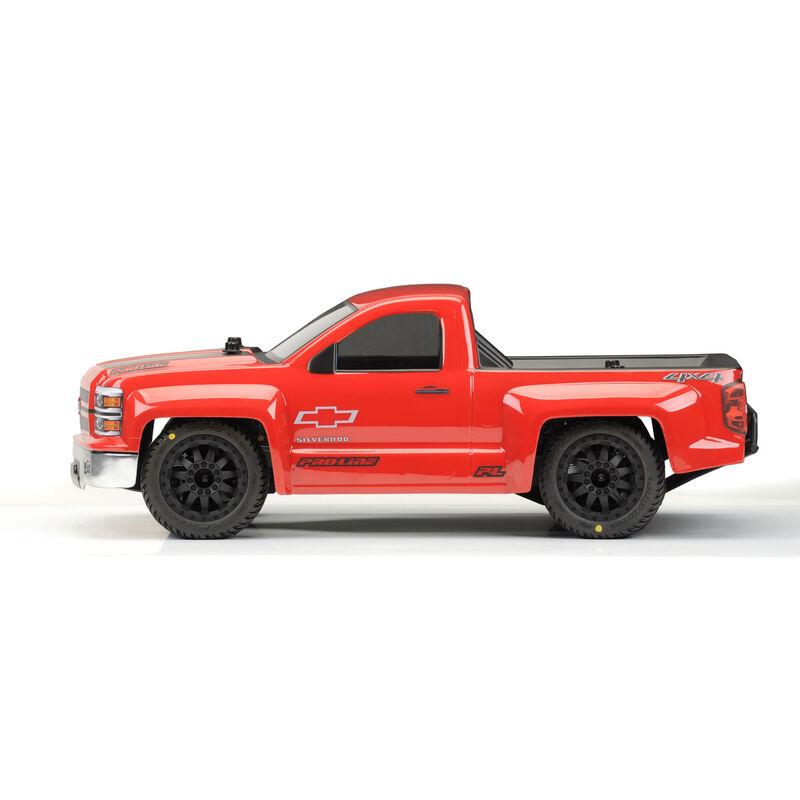 Clear Body, Chevy Silverado Pro-Touring: 1/10 PRO-2 SC