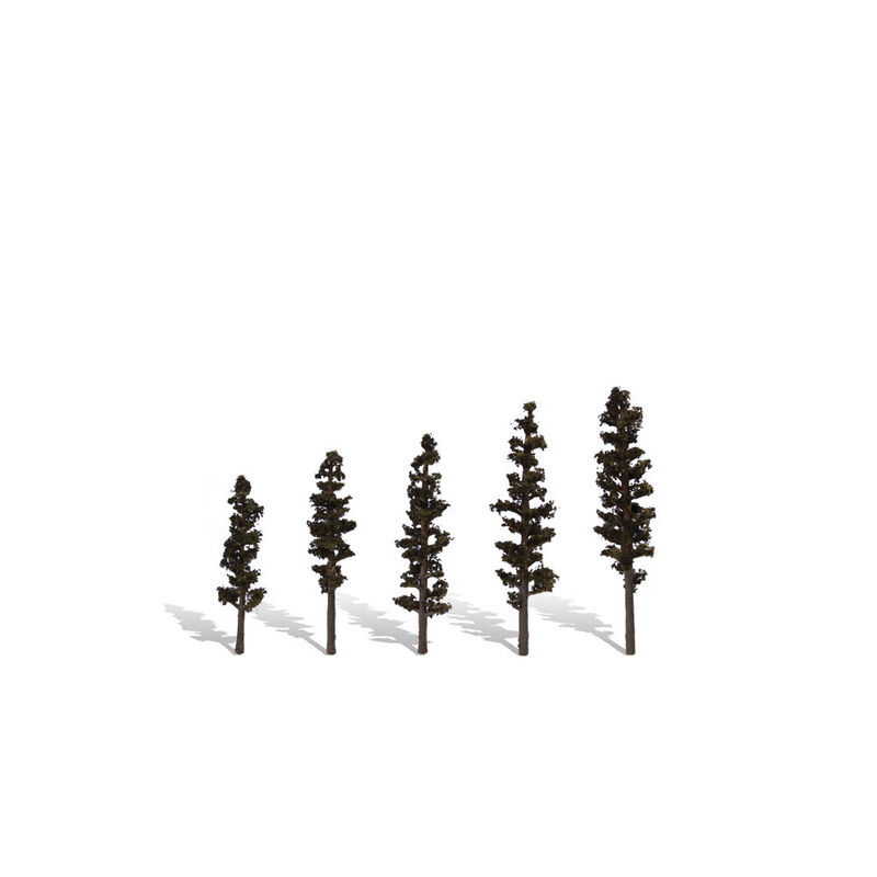 """Classic Trees, Standing Timber 2.5-4"""" (5)"""