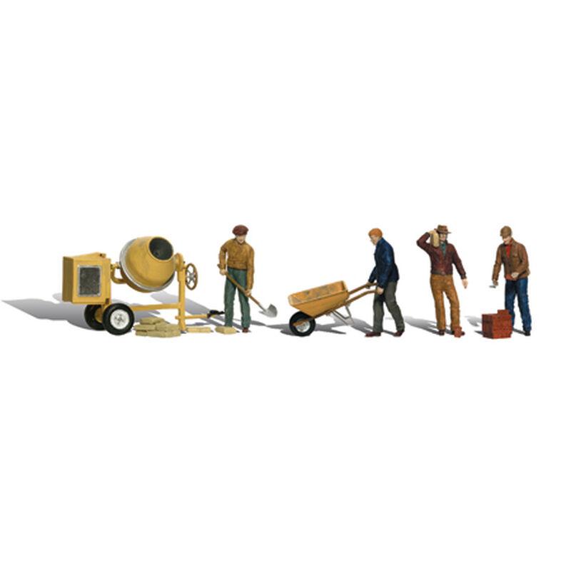 HO Masonry Workers