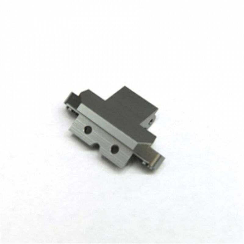 Aluminum Front Skid Plate Hinge-pin Mount, Gun Metal: Yeti
