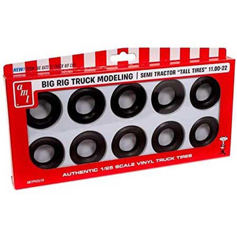 1/25 Semi Truck Tall Tires Pack