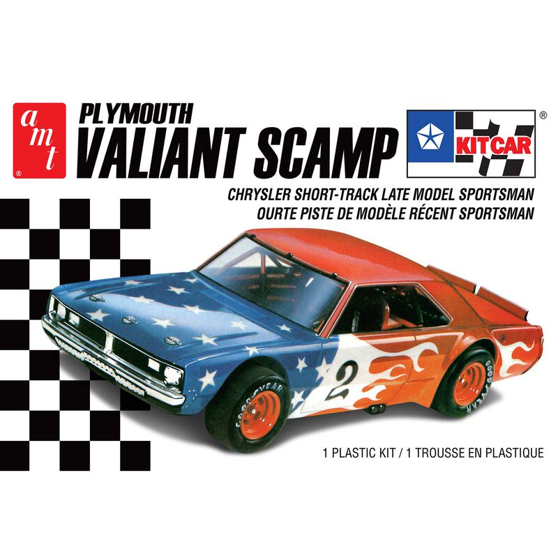 1/25 Plymouth Valiant Scamp Kit Car 2T