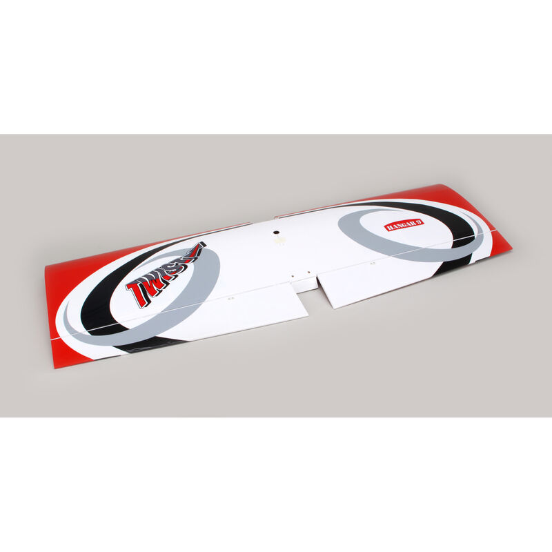 Twist 60 (True Red) Wing Set with Ailerons