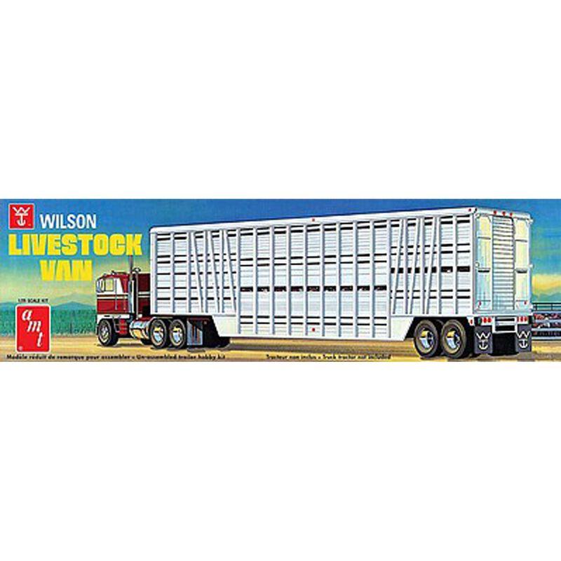 1 25 Wilson Livestock Van Trailer