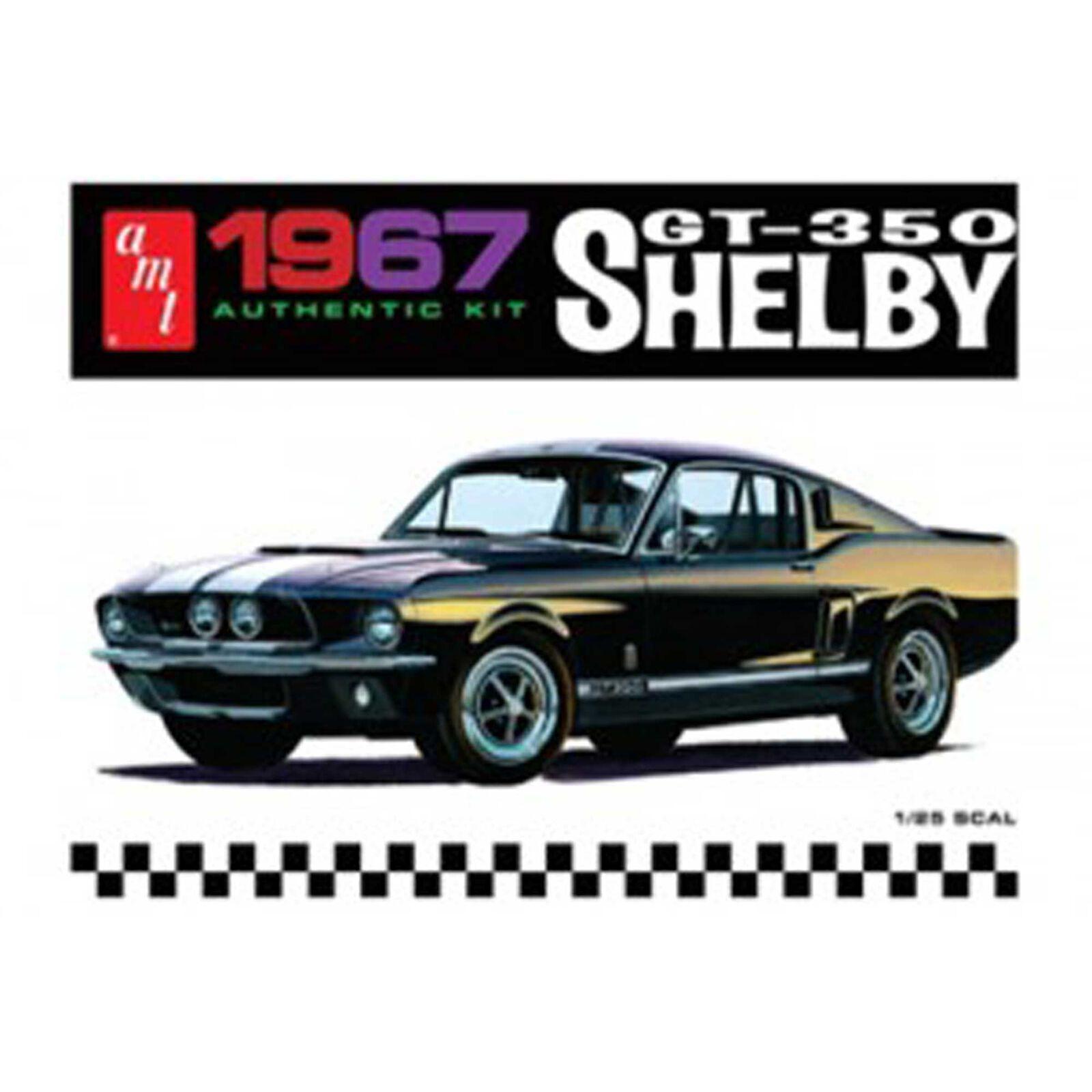 1/25 '67 Shelby GT350, Black