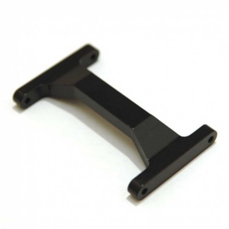 CNC Machined Rear Chassis Brace, Black: Enduro