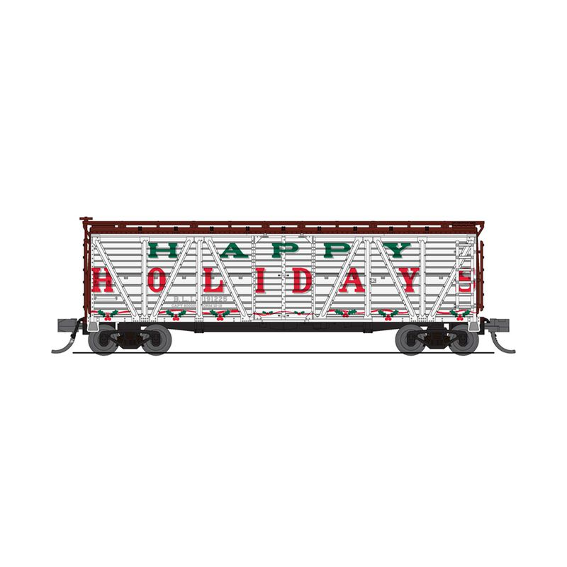 N Holiday Sounds Stock Car, Happy Holidays