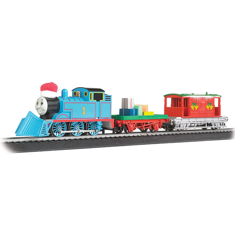 HO Thomas' Christmas Delivery Set with Moving Eyes