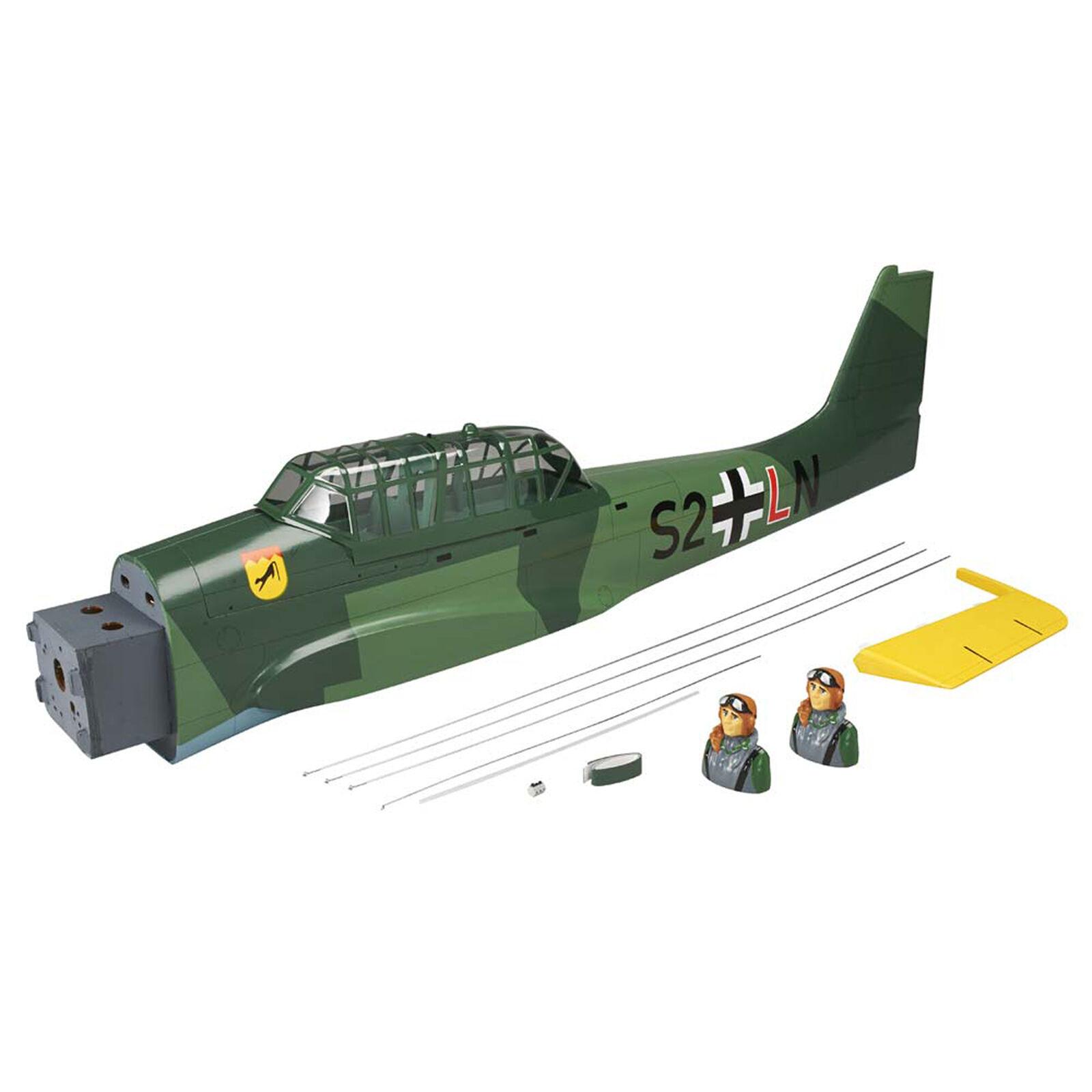 Fuselage Stuka 1.20 20cc EP ARF