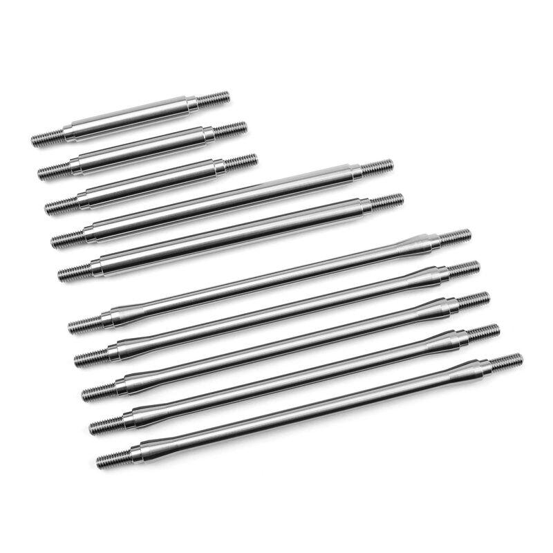 Stainless Steel Link Kit (10) Stock Wheelbase: TRX-4