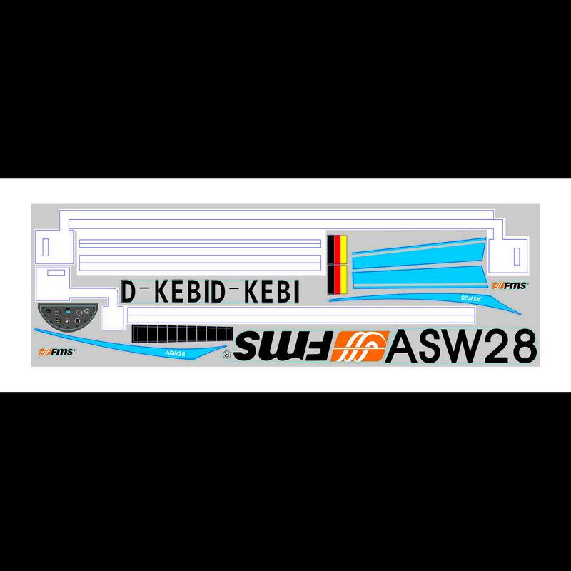 Decal Sheet: ASW28 2300mm