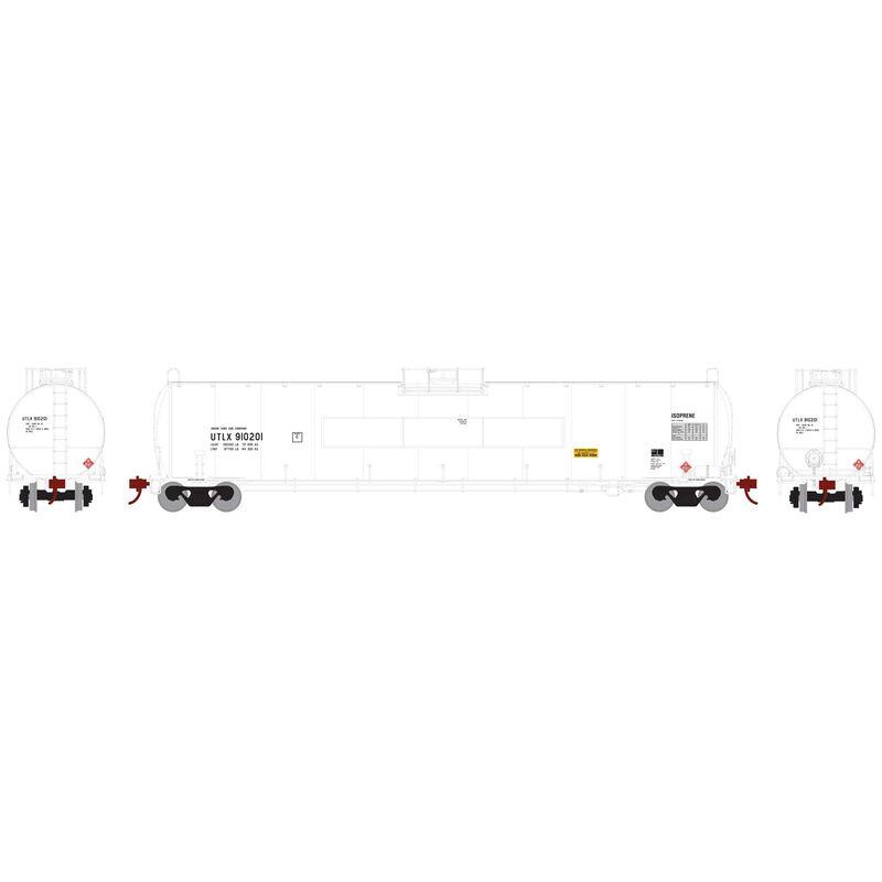 HO 33 900-Gallon LPG Tank Flat UTLX #910201