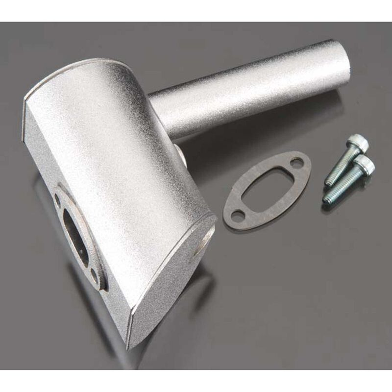 Muffler Right Two-Hole: DLE-60