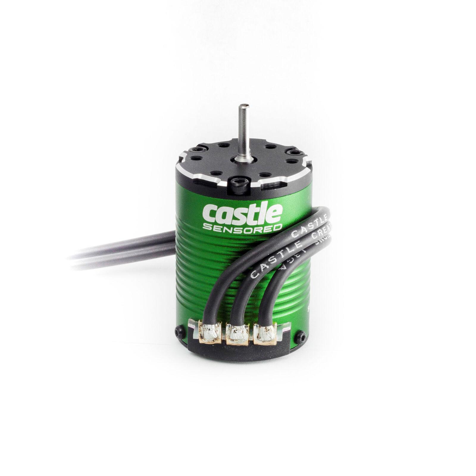 1/10 4-Pole Sensored Brushless Motor, 1406-5700Kv: 4mm Bullet