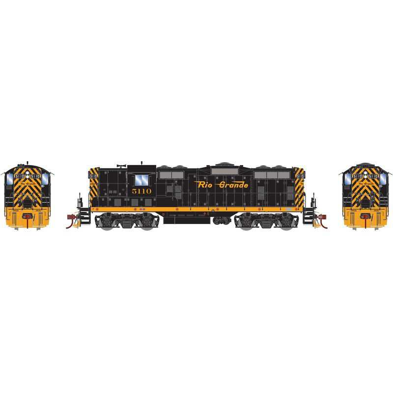 HO GP7 with DCC & Sound D&RGW  #5110