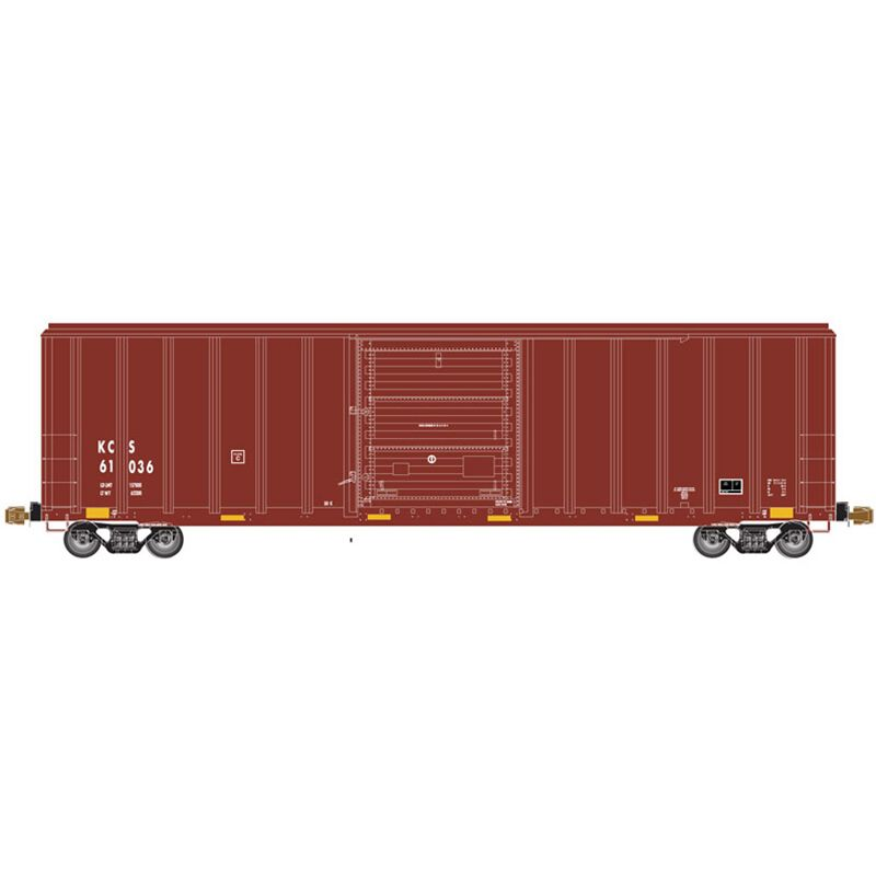 HO FMC 5347 Single Door Box KCS #61065