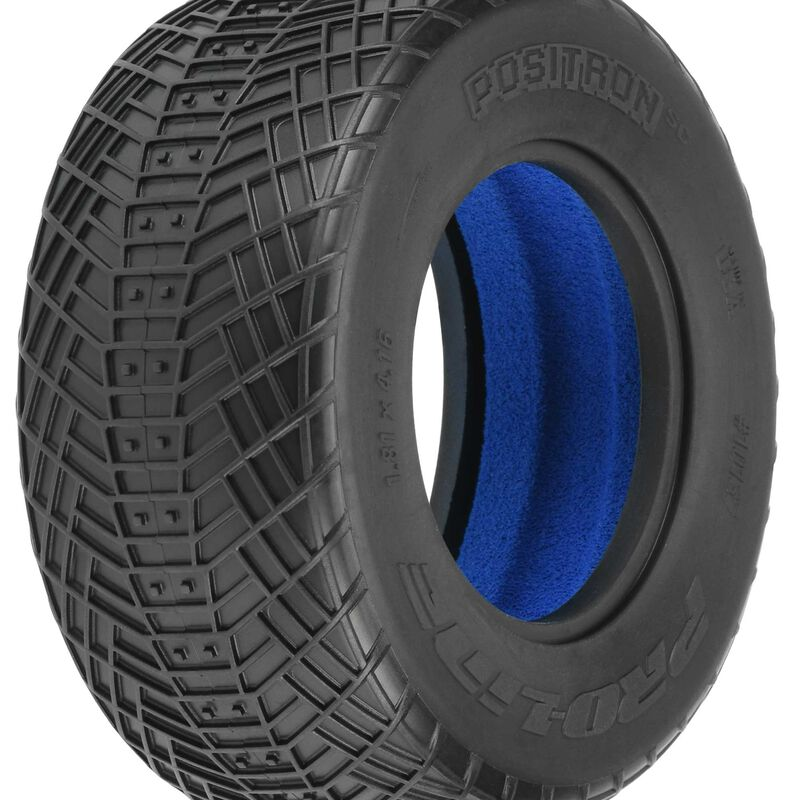 1/10 Positron SC 2.2/3.0 M4 Tires (2): SCT Front and Rear