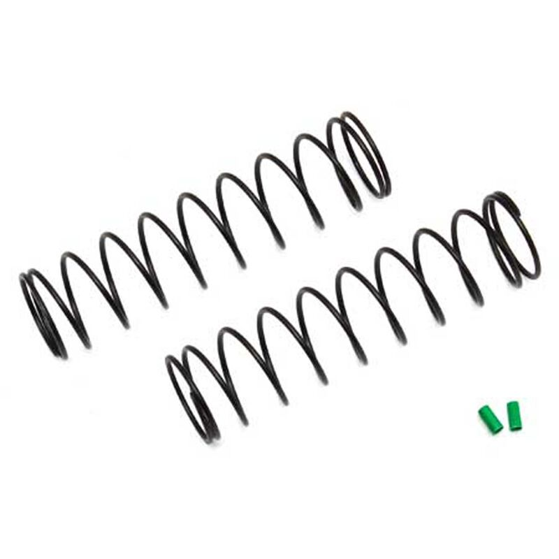 12mm Shock Springs 72mm Green 2.20 lb in