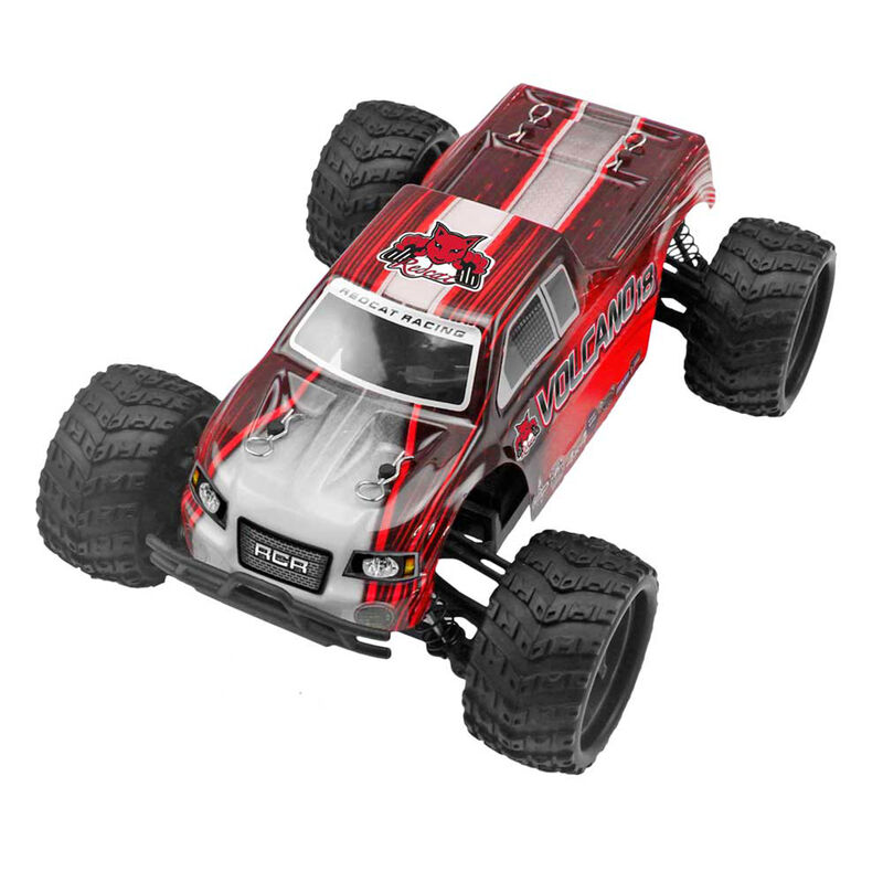 Redcat Racing 1 18 Volcano V2 4wd Monster Truck Brushed Rtr Tower Hobbies