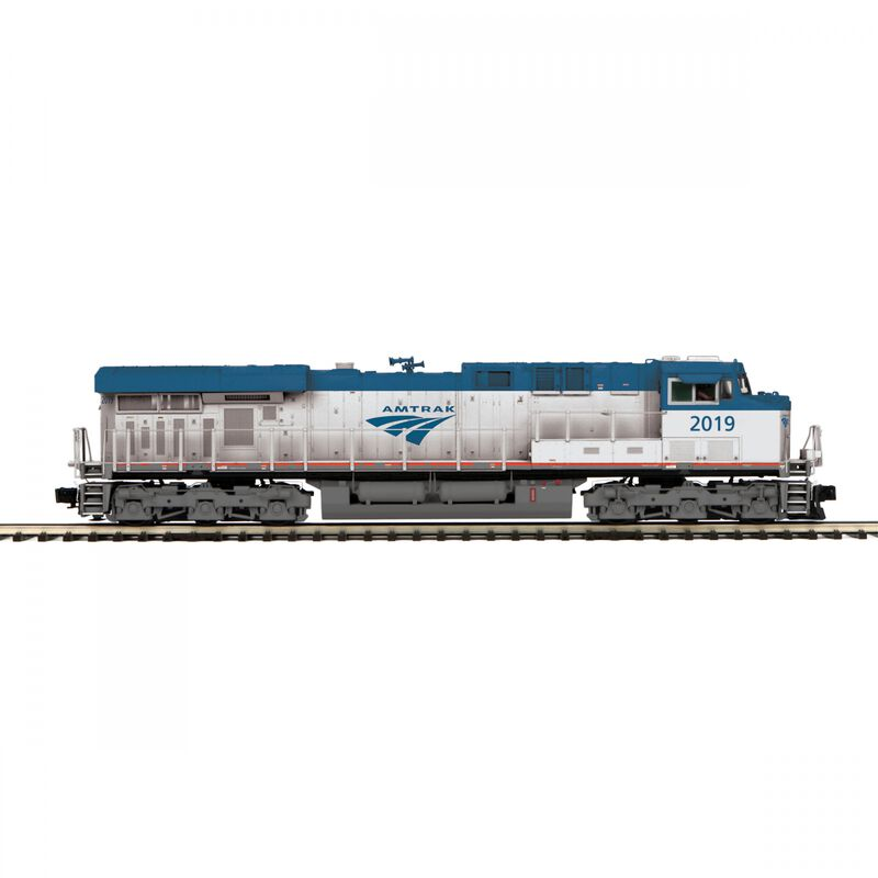 O ES44AC with PS3 & Scale Wheels Amtrak #2019