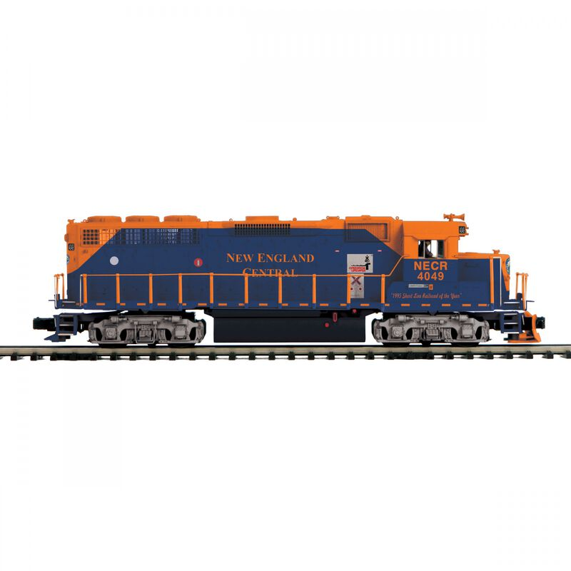 O-27 GP40 with PS3 Hi-Rail New England Central #4048