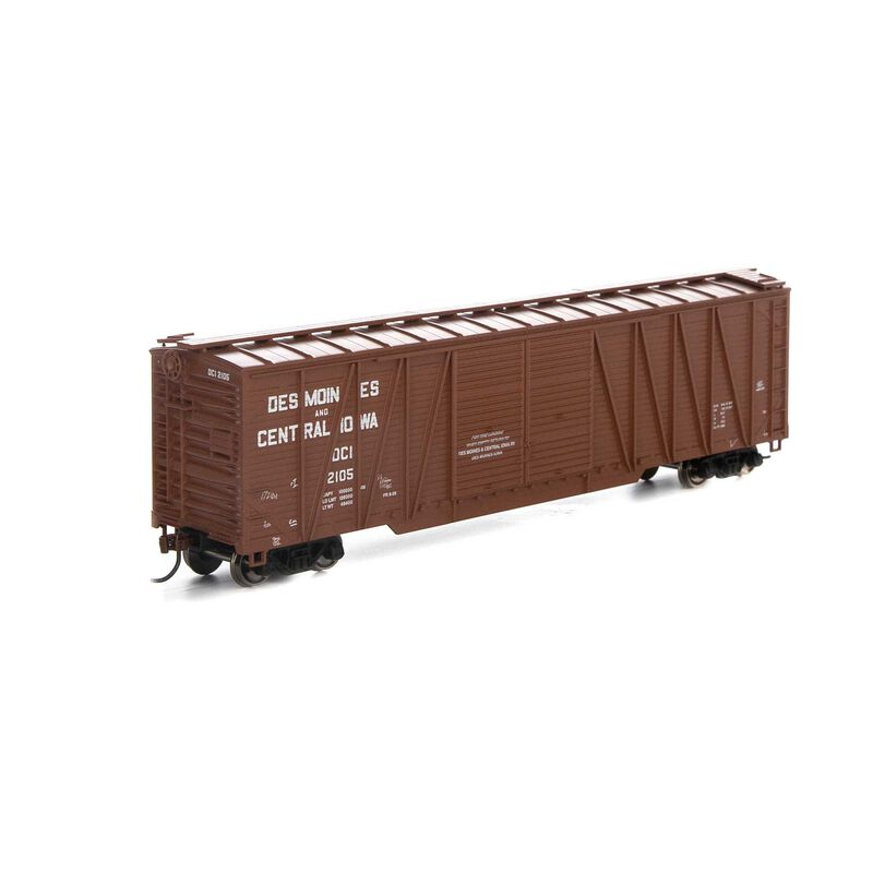 HO RTR 50' Single Sheathed Box D&CI #2105