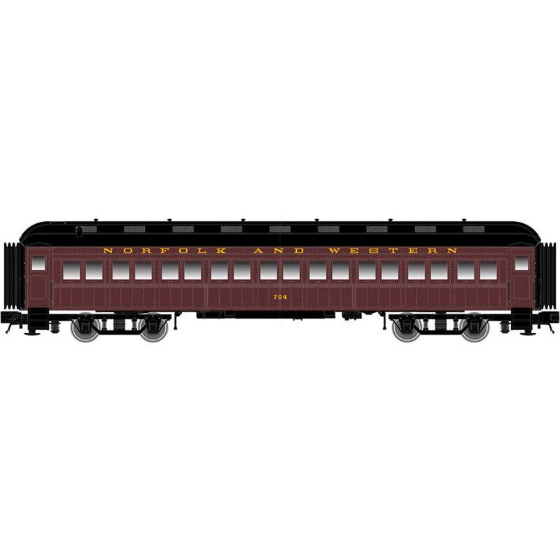 N Trainman 60' Coach N&W #702