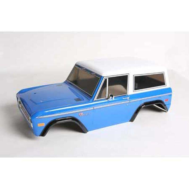 1/10 Ford Bronco Clear Body Set: CC01/CR01